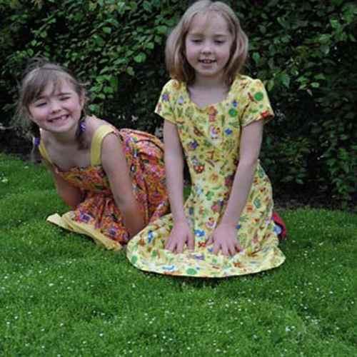 Kids in Irish Moss